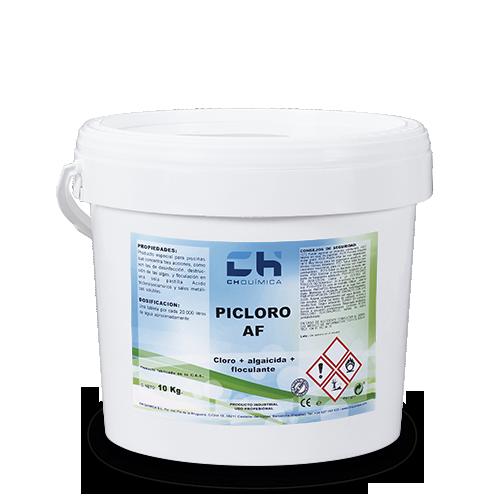 Picloro-AF-Piscina-Pastilla-Clor-Alguicida-Floculante-CH-Quimica