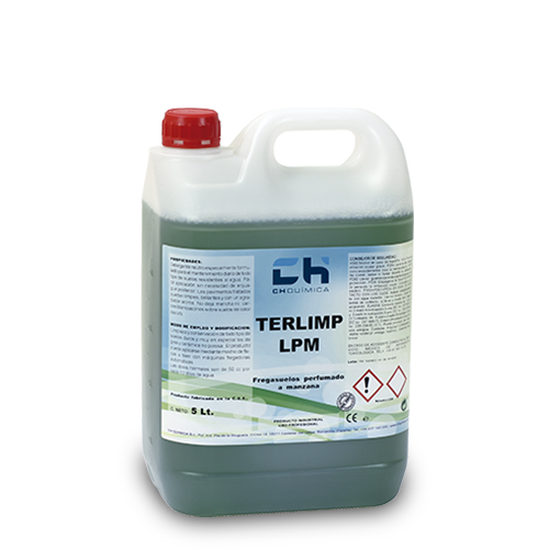 Terlimp-LPM-Scented -Cleaner-Green -Apple-CH-Quimica