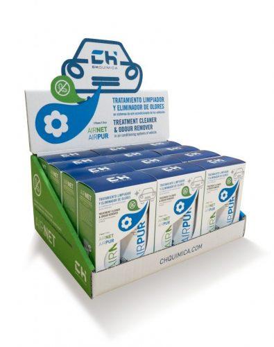 AIRNET-AIRPUR-auto-expositor-tratamiento-limpiador-y-eliminador-de-olores-vehiculos